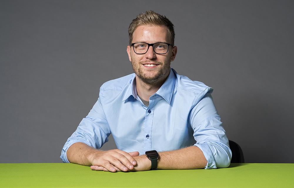 Mitarbeiter Portrait bei der RVG Raiffeisen Viehvermarktung GmbH
