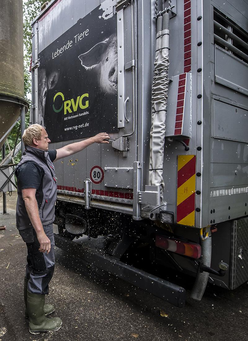 RVG - Raiffeisen Viehvermarktung GmbH am 08.09.2017 in Albersloh
